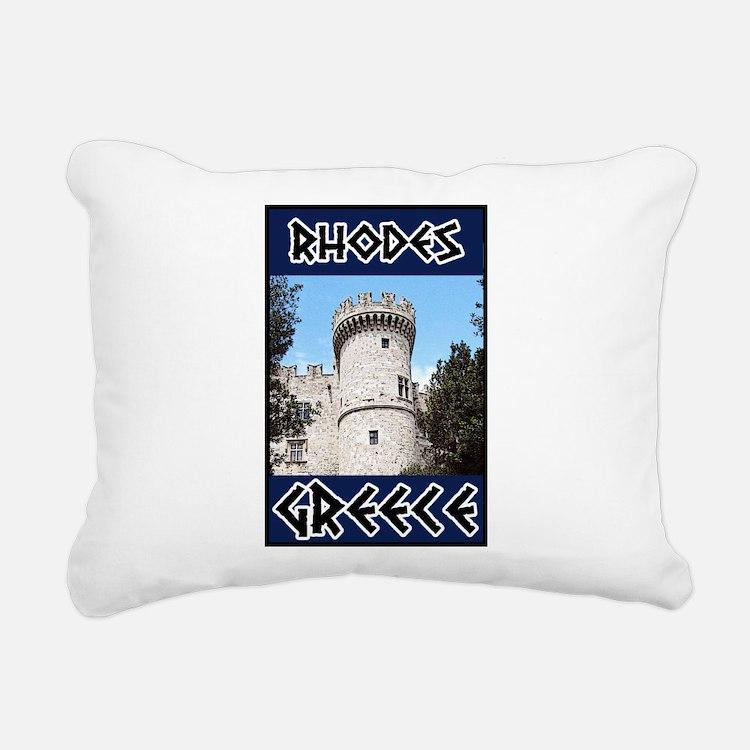 Rhodes Rectangular Canvas Pillow