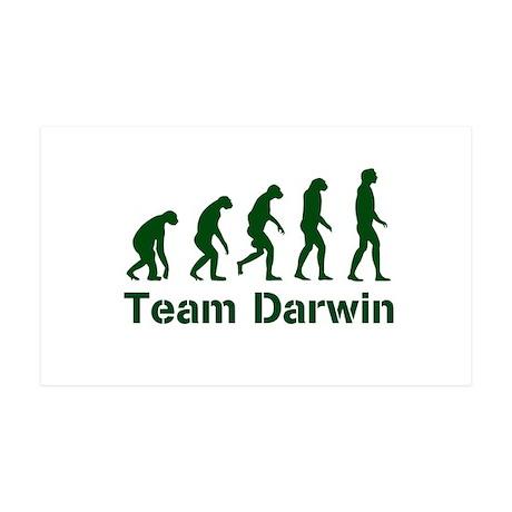 Team Darwin (green) 35x21 Wall Decal