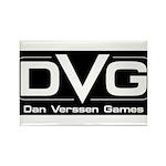 DVG Logo (Black) Rectangle Magnet