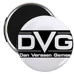 DVG Logo (Black) Magnet