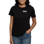 DVG Logo (Black) Women's Dark T-Shirt