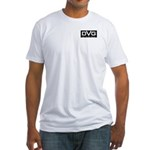 DVG Logo (Black) Fitted T-Shirt