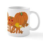 Halloween Pumpkin Ellen Mug
