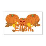 Halloween Pumpkin Ellen 20x12 Wall Decal