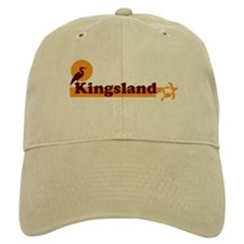 Kingsland GA - Beach Design. Baseball Cap