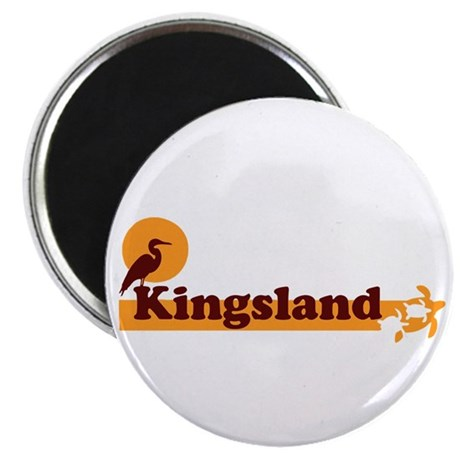 Kingsland GA - Beach Design. Magnet
