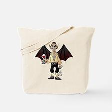 Count Dracula the vampire Tote Bag