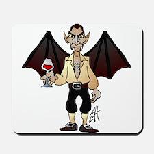 Count Dracula the vampire Mousepad