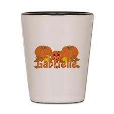 Halloween Pumpkin Gabrielle Shot Glass