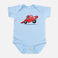 Red race car Infant Bodysuit