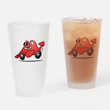 Red race car Drinking Glass