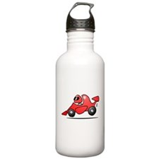 Red race car Water Bottle