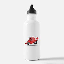 Red race car Water Bottle