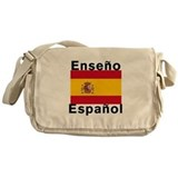 Spanish Canvas Messenger Bags