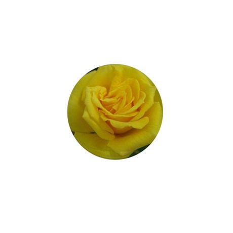 Yellow Rose Mini Button (100 pack)
