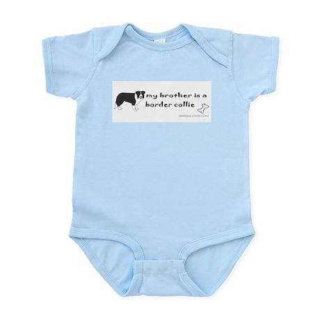 border collie Infant Bodysuit