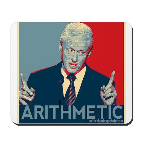 Bill Clinton - Arithmetic Mousepad