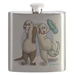 Drunk Ferret Flask
