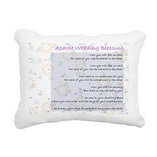 Apache Wedding Blessing Rectangular Canvas Pillow