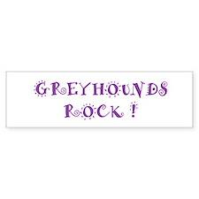Greyhounds Rock Bumper Bumper Sticker
