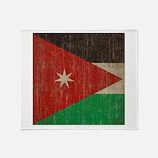 Vintage Jordan Flag Throw Blanket