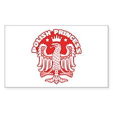Polish Princess Decal