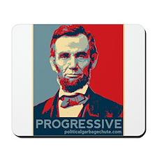 Abe Lincoln - PROGRESSIVE Mousepad
