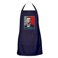Abe Lincoln - PROGRESSIVE Apron (dark)