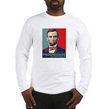 Abe Lincoln - PROGRESSIVE Long Sleeve T-Shirt