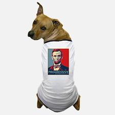 Abe Lincoln - PROGRESSIVE Dog T-Shirt