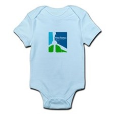 Wind energy creavtive Infant Bodysuit
