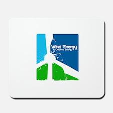 Wind energy creavtive Mousepad
