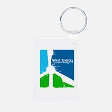 Wind energy creavtive Keychains