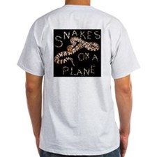 Snakes on a Plane - movie thriller Ash Grey T-Shir