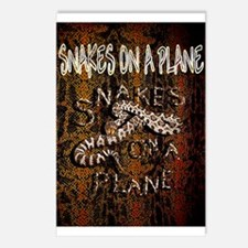 Snakes on a Plane - movie thriller Postcards (Pack