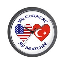 Turkey Country Heritage Wall Clock