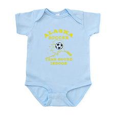 Alaska Soccer Infant Bodysuit