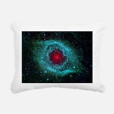 Helix Nebula Rectangular Canvas Pillow
