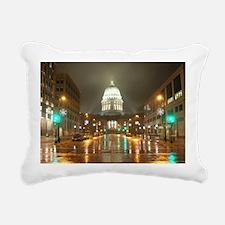 Cute Capitol Rectangular Canvas Pillow