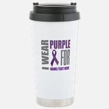 Purple Awareness Travel Mug