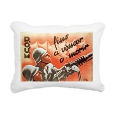 Victory Or DeathRectangular Canvas Pillow