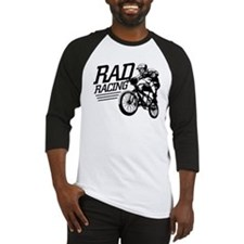 Retro RAD BMX Racing Baseball Jersey