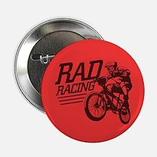 Retro RAD BMX Racing Button