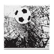 Shattered Glass Ball Tile Coaster