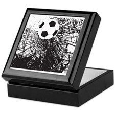 Shattered Glass Ball Keepsake Box