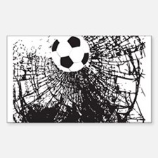 Shattered Glass Ball Decal