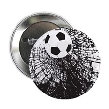 "Shattered Glass Ball 2.25"" Button"