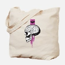 Soccer on the brain Tote Bag