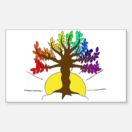 The Giving Tree Sticker (Rectangle)