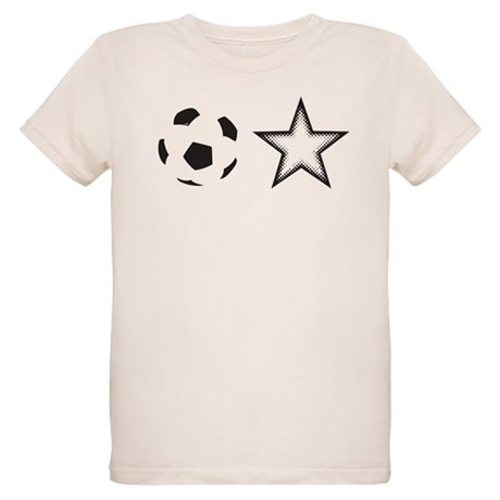 Soccer Star Organic Kids T-Shirt